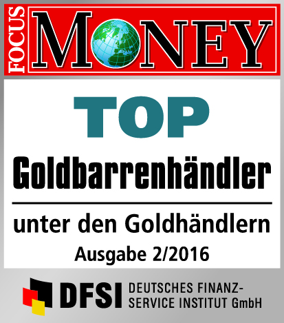 Auvesta - TOP Goldbarrenhändler unter den Goldhändlern Ausgabe 2/2016