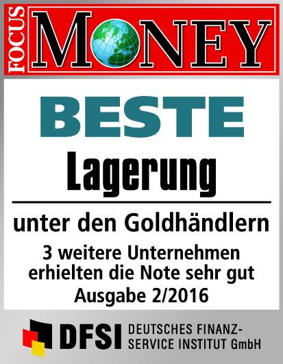 Auvesta - BESTE Lagerung unter den Goldhändlern Ausgabe 2/2016