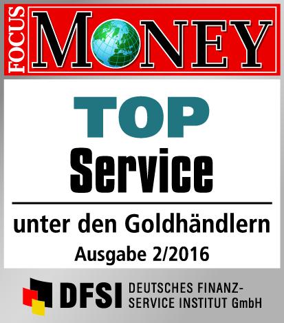 Auvesta - TOP Service unter den Goldhändlern Ausgabe 2/2016