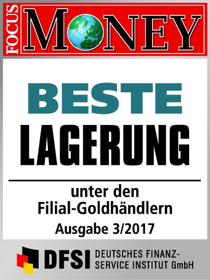 Auvesta - BESTE Lagerung unter den Goldhändlern Ausgabe 03/2017