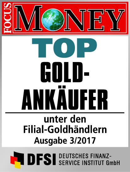 Auvesta - TOP Goldankäufer unter den Filial-Goldhändlern Ausgabe 3/2017
