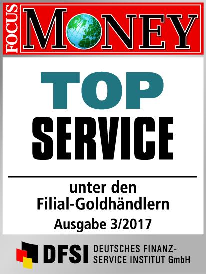 Auvesta - TOP Service unter den Filial-Goldhändlern Ausgabe 3/2017
