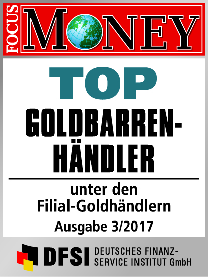Auvesta - TOP Goldbarrenhändler unter den Filial-Goldhändlern Ausgabe 3/2017