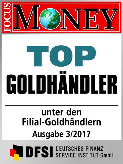 Auvesta - TOP Goldhändler unter den Filial-Goldhändlern Ausgabe 3/2017