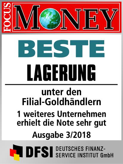 Auvesta - BESTE Lagerung unter den Filial Goldhändlern Ausgabe 03/2018