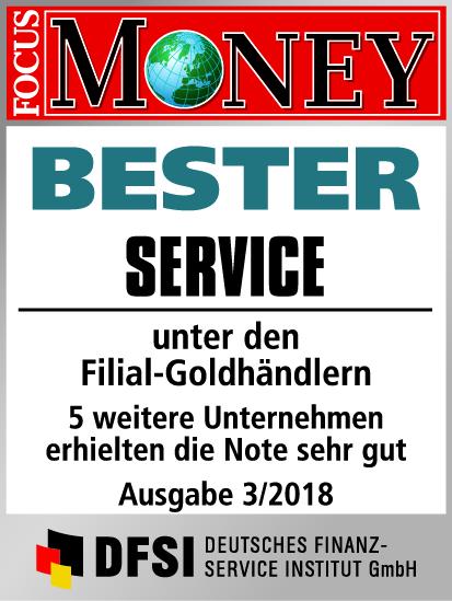 Auvesta - BESTER Service unter den Filial-Goldhändlern Ausgabe 3/2018