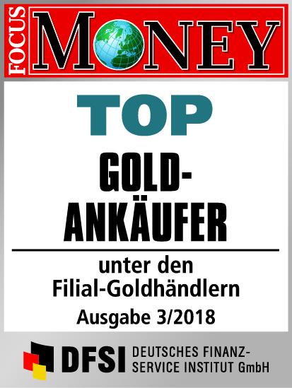 Auvesta - TOP Goldankäufer unter den Filial-Goldhändlern Ausgabe 3/2018