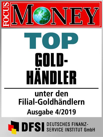 Auvesta - TOP Goldhändler unter den Filial-Goldhändlern Ausgabe 4/2019