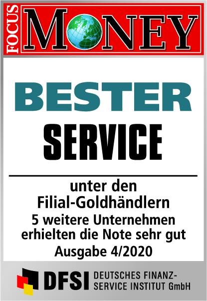 Auvesta - BESTER Service unter den Filial-Goldhändlern Ausgabe 4/2020
