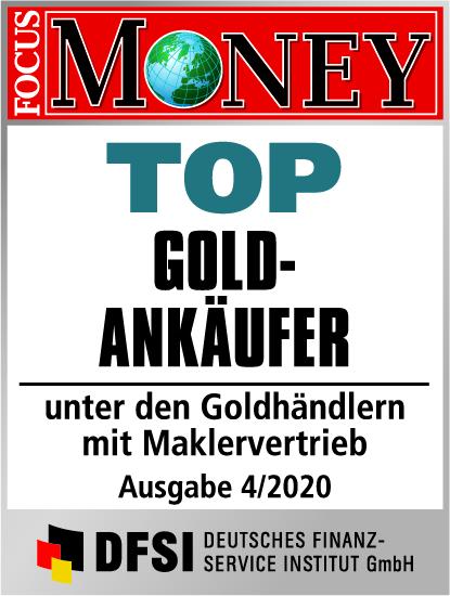 Auvesta - TOP Goldankäufer unter den Goldhändlern mit Maklervertrieb Ausgabe 4/2020