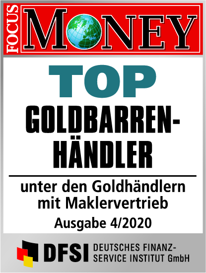 Auvesta - TOP Goldbarrenhändler unter den Goldhändlern mit Maklervertrieb Ausgabe 4/2020