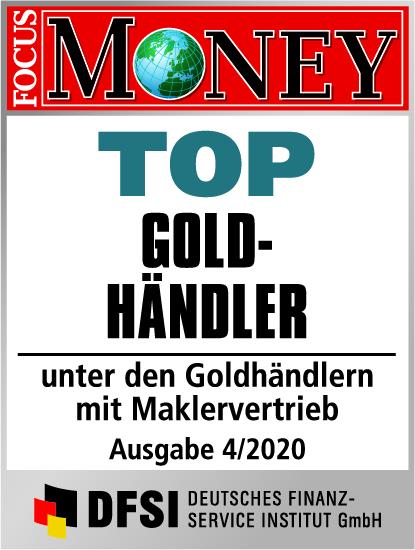 Auvesta - TOP Goldhändler unter den Goldhändlern mit Maklervertrieb Ausgabe 4/2020