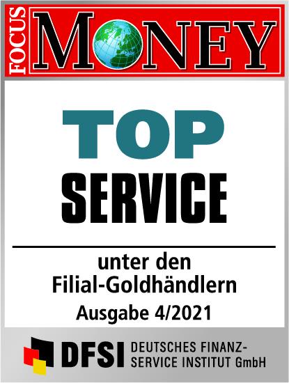 Auvesta - TOP Service unter den Filial-Goldhändlern Ausgabe 04/2021