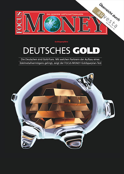 GERMAN GOLD - Gold savings plans - The Germans are gold fans. The FOCUS-MONEY gold savings plan test demonstrates which partners can build precious metals assets