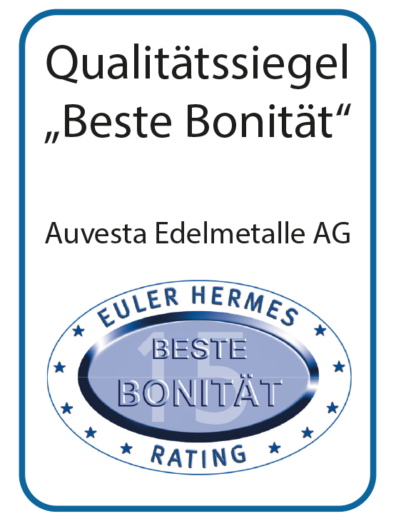 Euler Hermes bestätigt Auvesta - Beste Bonität