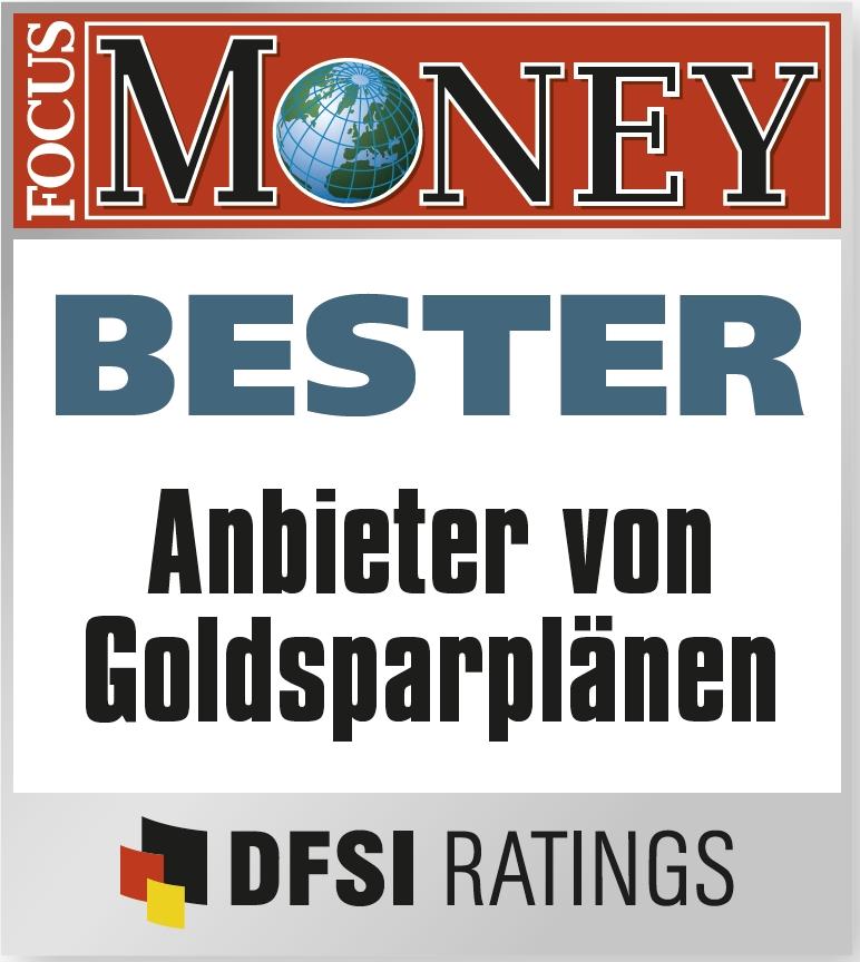 Die Goldsparpläne dieser Anbieter entsprechen höchstem Standard. Hier dürften Anleger in guten Händen sein.