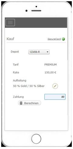 Kauf - Gold weltweit ganz einfach online kaufen