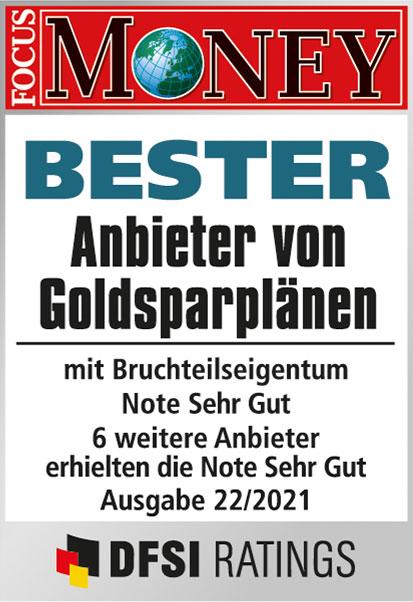Auvesta-Bester-Anbieter-Goldsparplaene-bruchteileigentum-Focus-Money